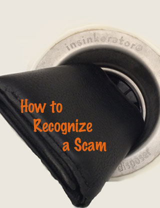 Tips on recognizing a scam