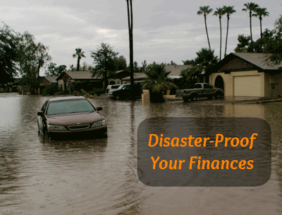 Don't let a disaster ruin your finances too