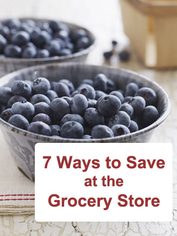 Tips on saving money on groceries