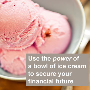 How ice cream can help finances