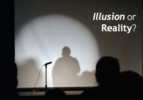 Do you prefer illusion or reality when it comes to money?