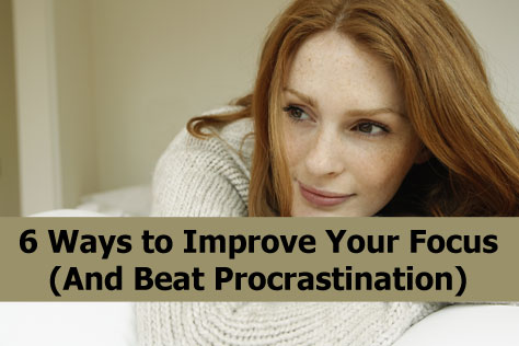 Easy steps to stop procrastinating