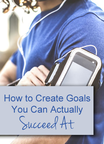 Good tips on creating goals you can actually REACH. (Because it's all well and good to say things like 'I want to get my finances in order' or 'I want to get healthy', but it's another thing to DO IT.)