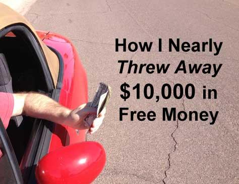 How I nearly threw away a $10,000 scholarship