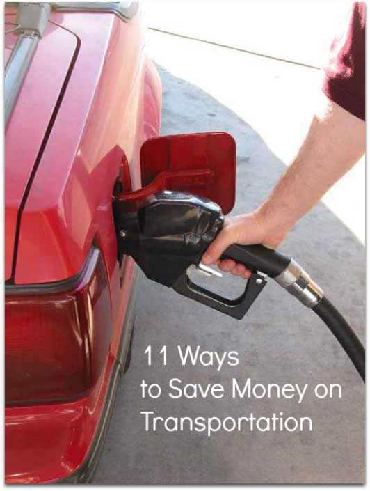 11 ways to save money on transportation