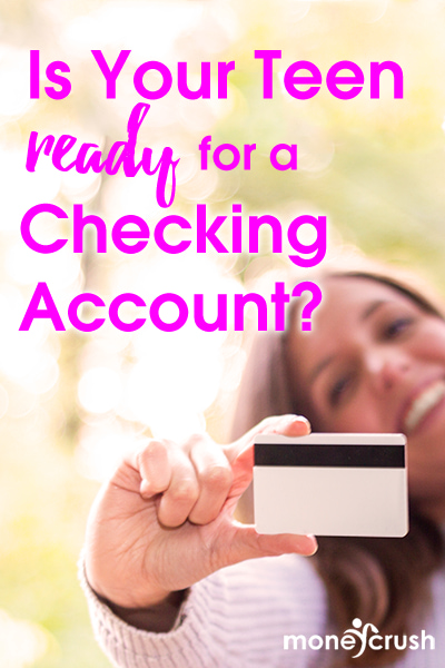 Should your kid get a debit card? Factors to consider about teens & checking accounts